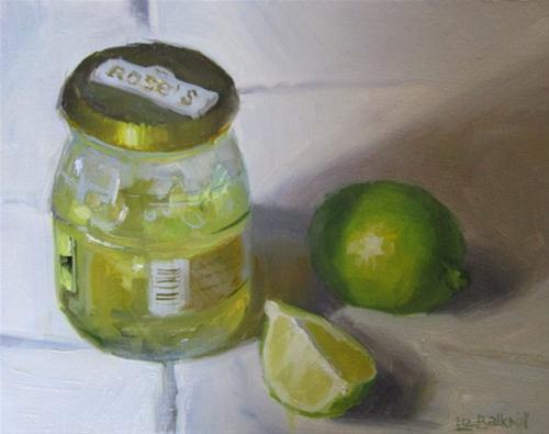 """Lime Marmalade"" original fine art by Liz Balkwill"