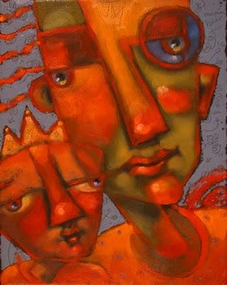 """Crown Prince Faint-Heart"" original fine art by Brenda York"