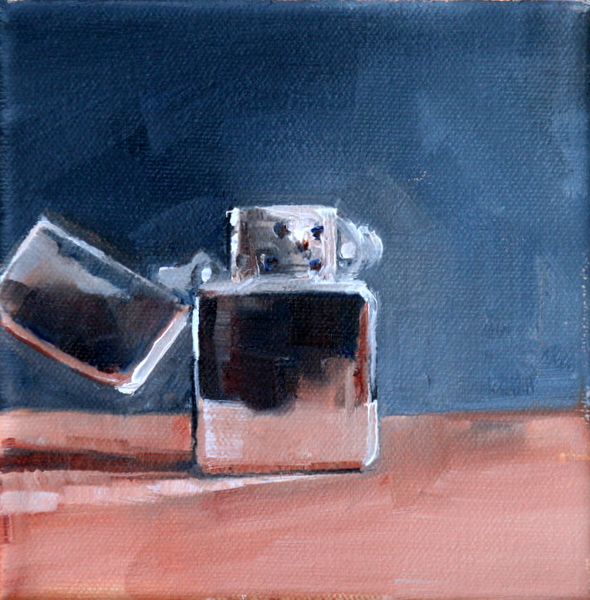 """zippo schmipo"" original fine art by Carol Carmichael"