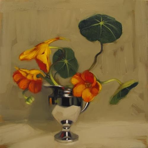 """Survivors a floral still life by Hoeptner"" original fine art by Diane Hoeptner"