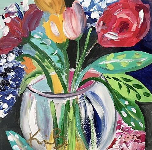 """Glass Vase"" original fine art by Kimberly Balentine"