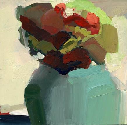 """1124 Warming Up"" original fine art by Lisa Daria"