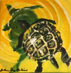 Slow and Steady original fine art by Joanne Perez Robinson