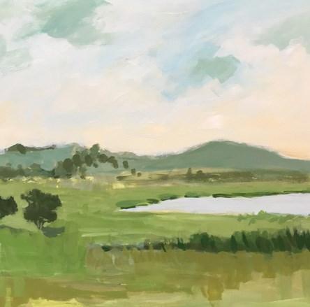 """""""May Green"""" original fine art by Pamela Munger"""