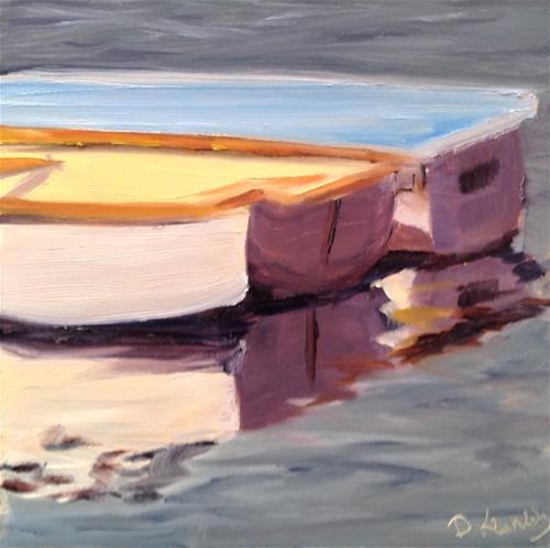 """Small Boats"" original fine art by Debra Kennedy"