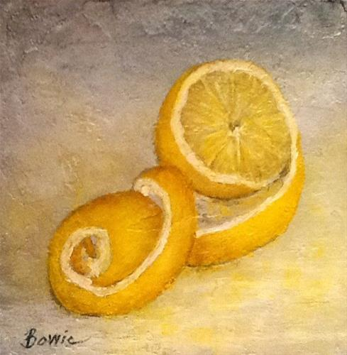 """Twisted"" original fine art by Maureen Bowie"