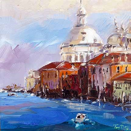 """Venedig"" original fine art by Jurij Frey"