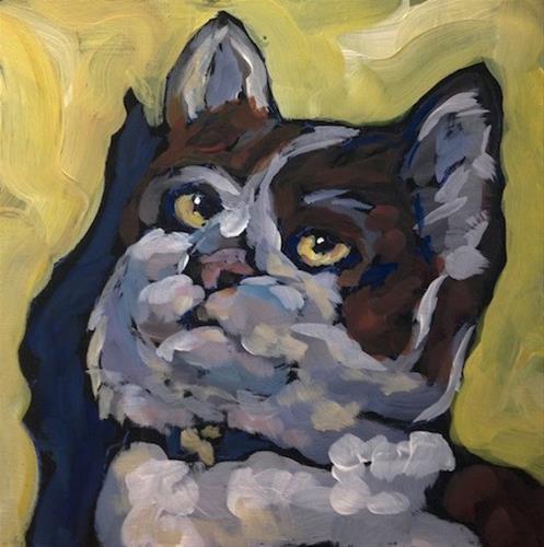 """Delilah"" original fine art by Kat Corrigan"