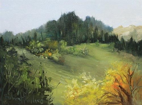 """View of Valley"" original fine art by Barbara Haviland"