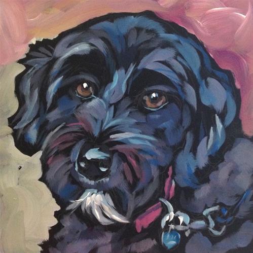 """July 4 Ruby Valentine!"" original fine art by Kat Corrigan"