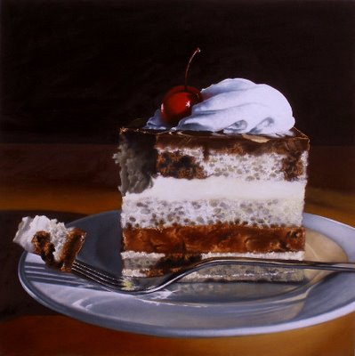 """First Bite"" original fine art by Jelaine Faunce"