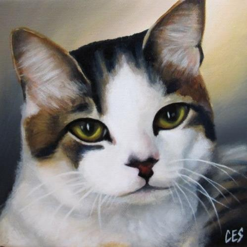 """Contemplation"" original fine art by ~ces~ Christine E. S. Code"