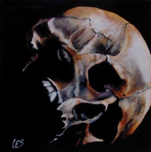 """""""Left Askew"""" original fine art by ~ces~ Christine E. S. Code"""
