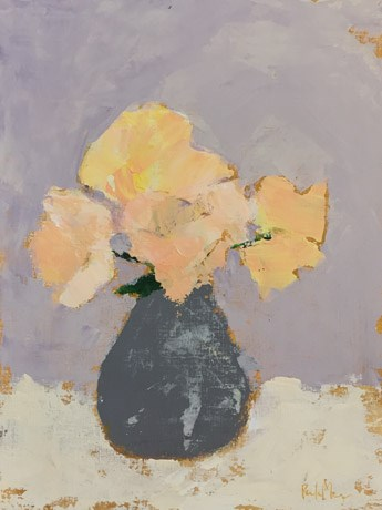"""roses in grey"" original fine art by Pamela Munger"