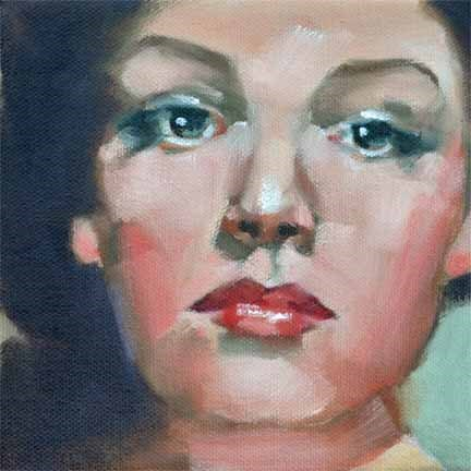 """Simone"" original fine art by Cheryl Wilson"