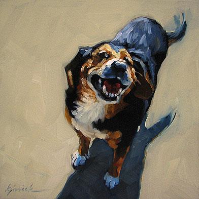 """Different Strokes"" original fine art by Karin Jurick"