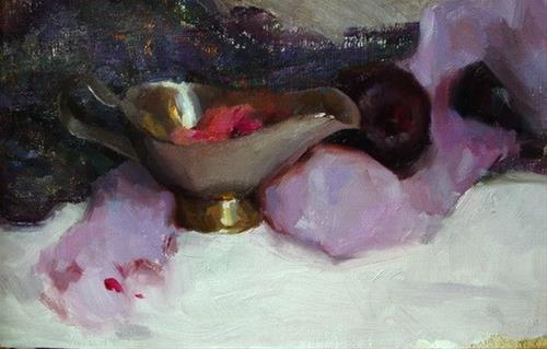 """still life"" original fine art by Taisia Kuklina"