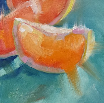 """""""Juicy Fruit"""" original fine art by Cindy Haase"""