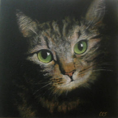 """Custom Pet Portrait From Your Photo!"" original fine art by ~ces~ Christine E. S. Code"