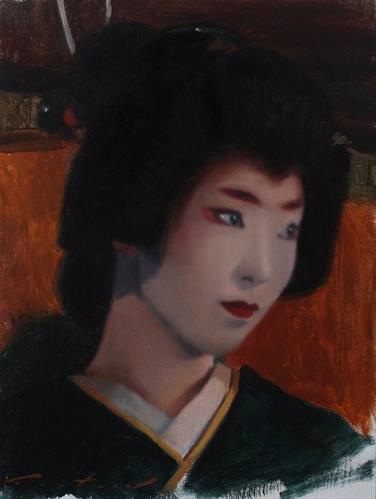 """Portrait of Umeha"" original fine art by Phil Couture"