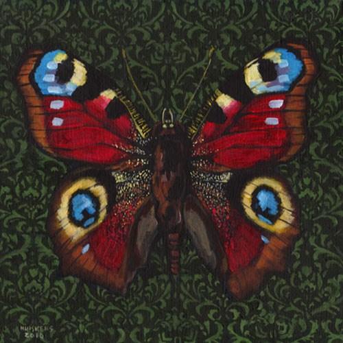 """""""Butterfly No. 5"""" original fine art by Randal Huiskens"""