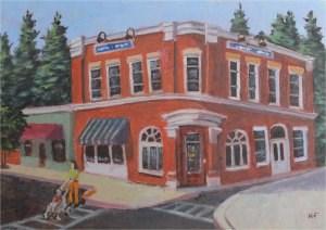 """Morning Stroll"" original fine art by Robert Frankis"