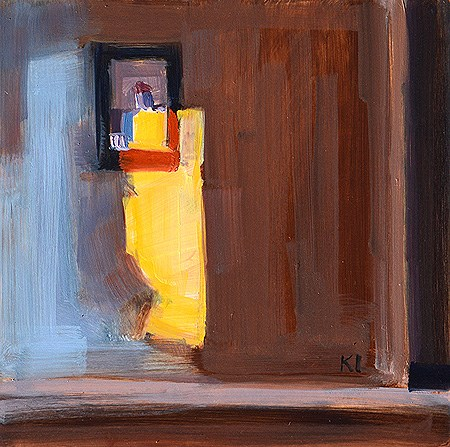 """Light in the Bedroom"" original fine art by Kevin Inman"