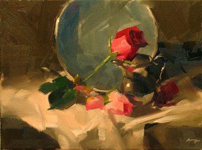 """""""Demo at Cincinnati 3 --- Sold"""" original fine art by Qiang Huang"""