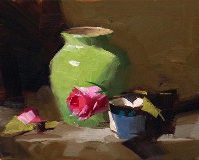 """""""Demo at Salado 1 --- Sold"""" original fine art by Qiang Huang"""