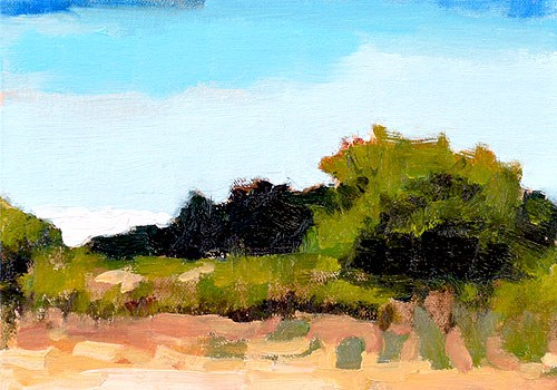 """Santa Ynez Valley Landscape Painting"" original fine art by Kevin Inman"