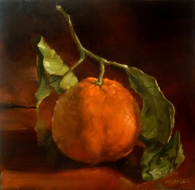 """Tangerine"" original fine art by Michael Naples"
