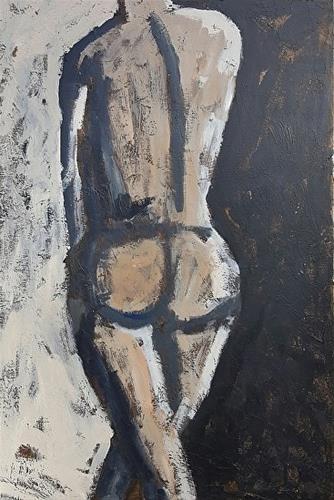 """In The Shadows"" original fine art by Mechele Flowers"