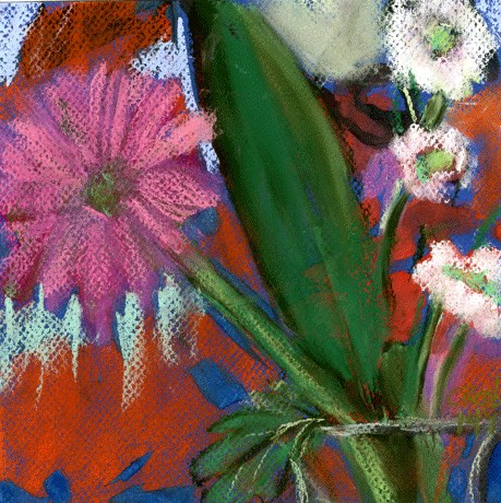 """Jilted Blooms"" original fine art by Donna Crosby"