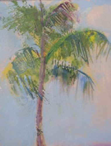 """Daytona Palm Landscape Paintings by Arizona Artist Amy Whitehouse"" original fine art by Amy Whitehouse"