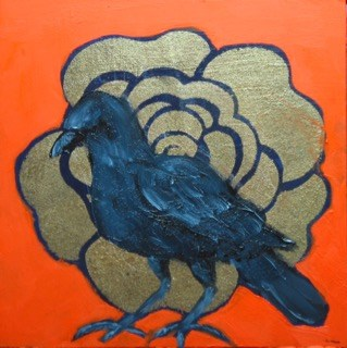 """Raven II"" original fine art by Patricia Murray"