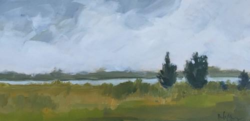 """""""Green River"""" original fine art by Pamela Munger"""