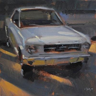 """Mustang"" original fine art by Carol Marine"