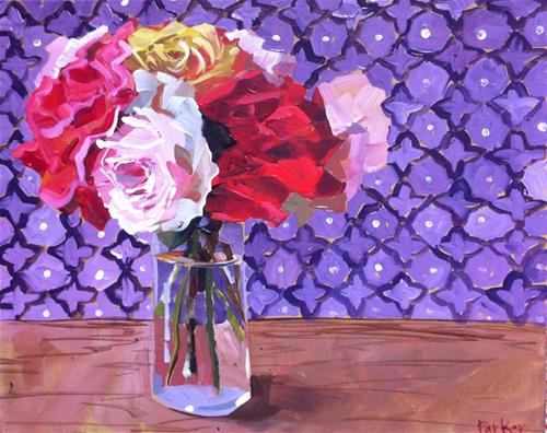"""Classic Bunch"" original fine art by Teddi Parker"