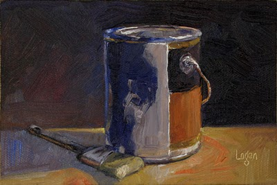 """Paint Can"" original fine art by Raymond Logan"