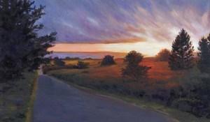 """Sunset Time"" original fine art by Mariko Irie"