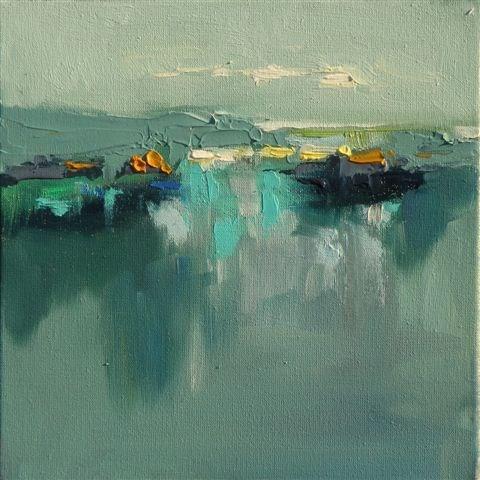 """Landscape 108"" original fine art by Ewa Kunicka"