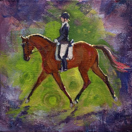 """Grace"" original fine art by Robin Peterson"