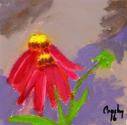"""Almost A Dance"" original fine art by Donna Crosby"