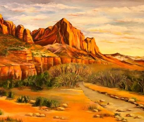 """Westland"" original fine art by Khrystyna Kozyuk"