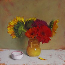 """Third Friday at 78th ST Studios, Gallery Plus +"" original fine art by Diane Hoeptner"