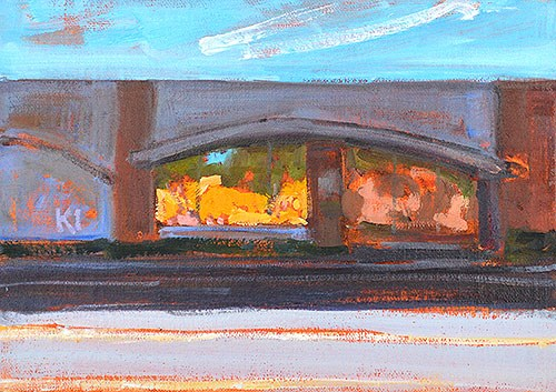 """Arches, Reflections"" original fine art by Kevin Inman"