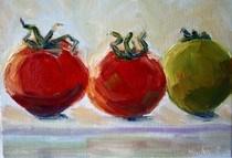 """""""Summer Harvest"""" original fine art by Maggie Flatley"""
