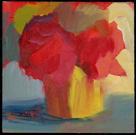 """1962 iron"" original fine art by Lisa Daria"
