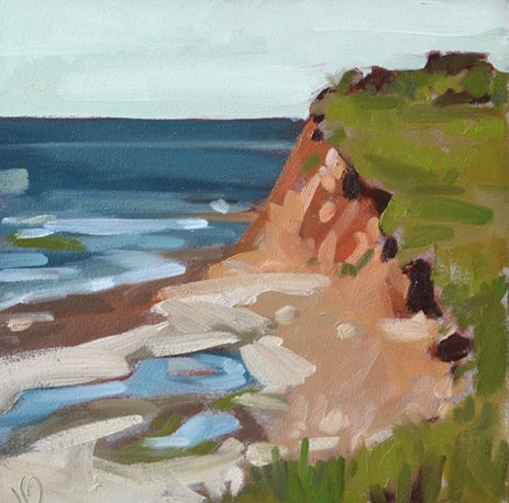 """Prince Edward Island"" original fine art by Jessica Green"