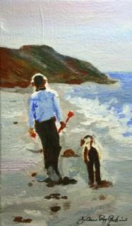 """Play Date"" original fine art by JoAnne Perez Robinson"